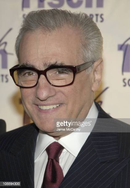 Martin Scorsese during 'On Location' A Gala Evening Benefiting NYU's Tisch School at Cipriani's in New York City New York United States