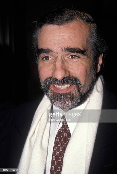 Martin Scorsese during Premiere of 'Cinema Paradiso' in New York at Lincoln Center in New York City New York United States