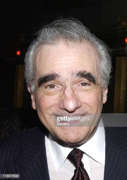 Martin Scorsese during 'Raging Bull' 25th Anniversary and Collector's Edition DVD Release Celebration After Party at Cipriani's in New York City New...