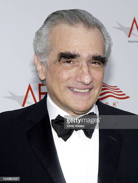 Martin Scorsese during The 31st AFI Life Achievement Award Presented to Robert DeNiro at Kodak Theatre in Hollywood California United States