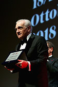 Martin Scorsese Receives The Lifetime Achievement Award...