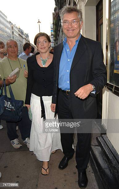 Martin Shaw and Guest at the 'A Few Good Men' West End Press Night at Theatre Royal in London
