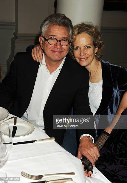 Martin Shaw and Jenny Seagrove attend the opening night after party for the West End production of The Country Girl on October 11 2010 in London...