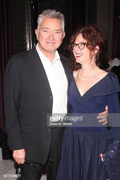 Martin Shaw and karen da Silva attend an after party following the press night performance of 'Twelve Angry Men' on November 11 2013 in London England
