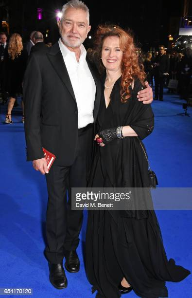 Martin Shaw and Karen De Silva attend the World Premiere of 'Another Mother's Son' on March 16 2017 in London England