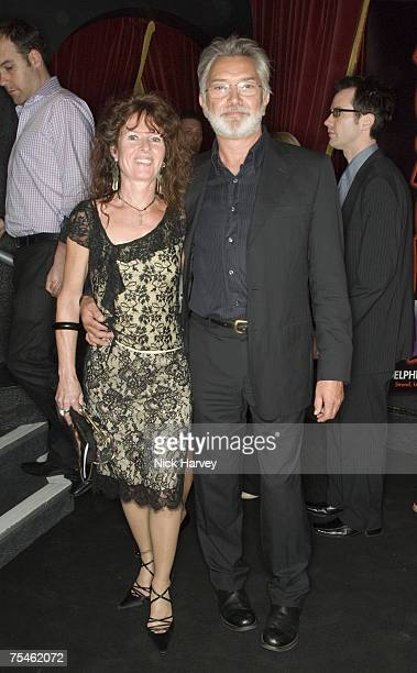 Martin Shaw and Vicki Kimm attend the 'Joseph And The Amazing Technicolor Dreamcoat' first night after party on July 17th 2007 in London
