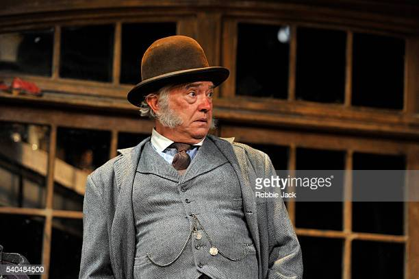 Martin Shaw as Henry Horatio Hobson in Harold Brighouse's Hobson's Choice directed by Jonathan Church at Vaudeville Theatre on June 13 2016 in London...