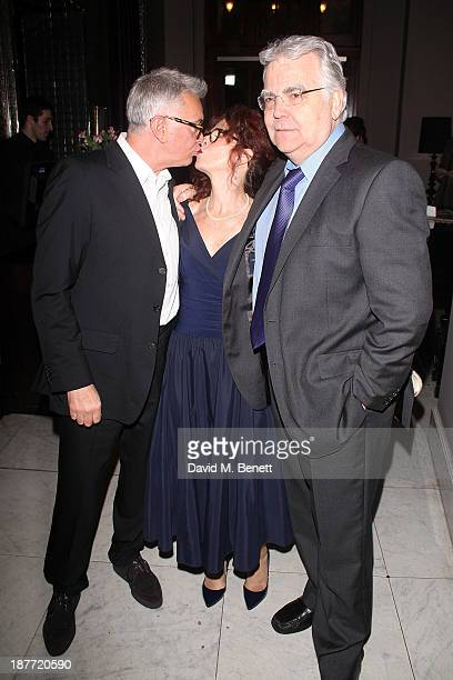 Martin Shaw Karen Da Silva and Bill Kenwright attend an after party following the press night performance of 'Twelve Angry Men' on November 11 2013...