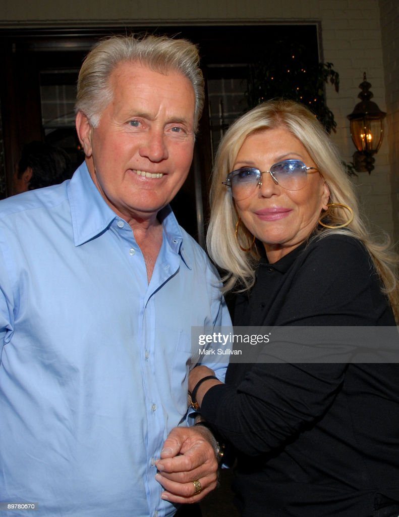 nancy sinatra hosts martin sheen and nancy sinatra attend a meet the canidates cocktail party hosted by