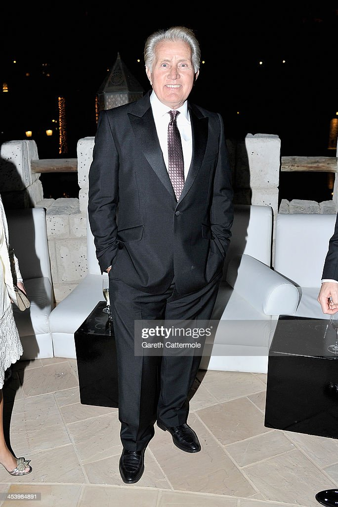 <a gi-track='captionPersonalityLinkClicked' href=/galleries/search?phrase=Martin+Sheen&family=editorial&specificpeople=203224 ng-click='$event.stopPropagation()'>Martin Sheen</a> attends the Opening Night Gala Party of the 10th Annual Dubai International Film Festival held at the Madinat Jumeriah Complex on December 6, 2013 in Dubai, United Arab Emirates.