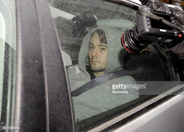 Martin Shkreli chief executive officer of Turing Pharmaceuticals LLC exits federal court in New York US on Thursday Dec 17 2015 Shkreli was arrested...