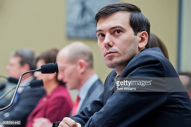 Martin Shkreli former CEO Turing Pharmaceuticals invoked his Fifth Amendment right against selfincrimination during a House Oversight and Government...