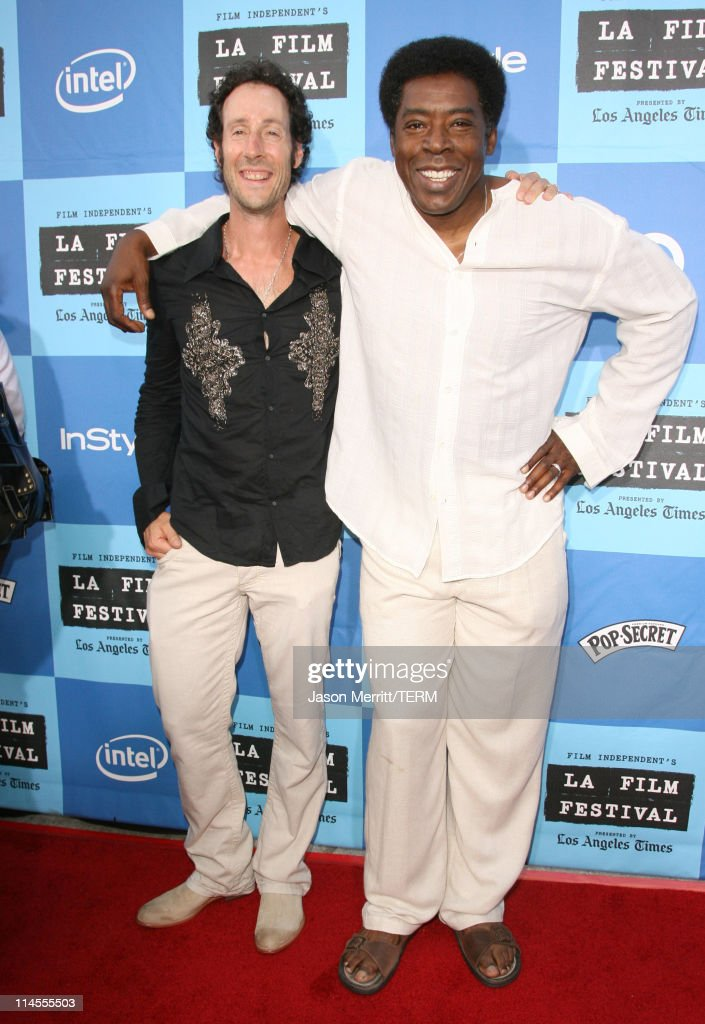 Martin Shore and Ernie Hudson during 2006 Los Angeles Film Festival Opening Night 'The Devil Wears Prada' Premiere at Mann Village Theatre in...
