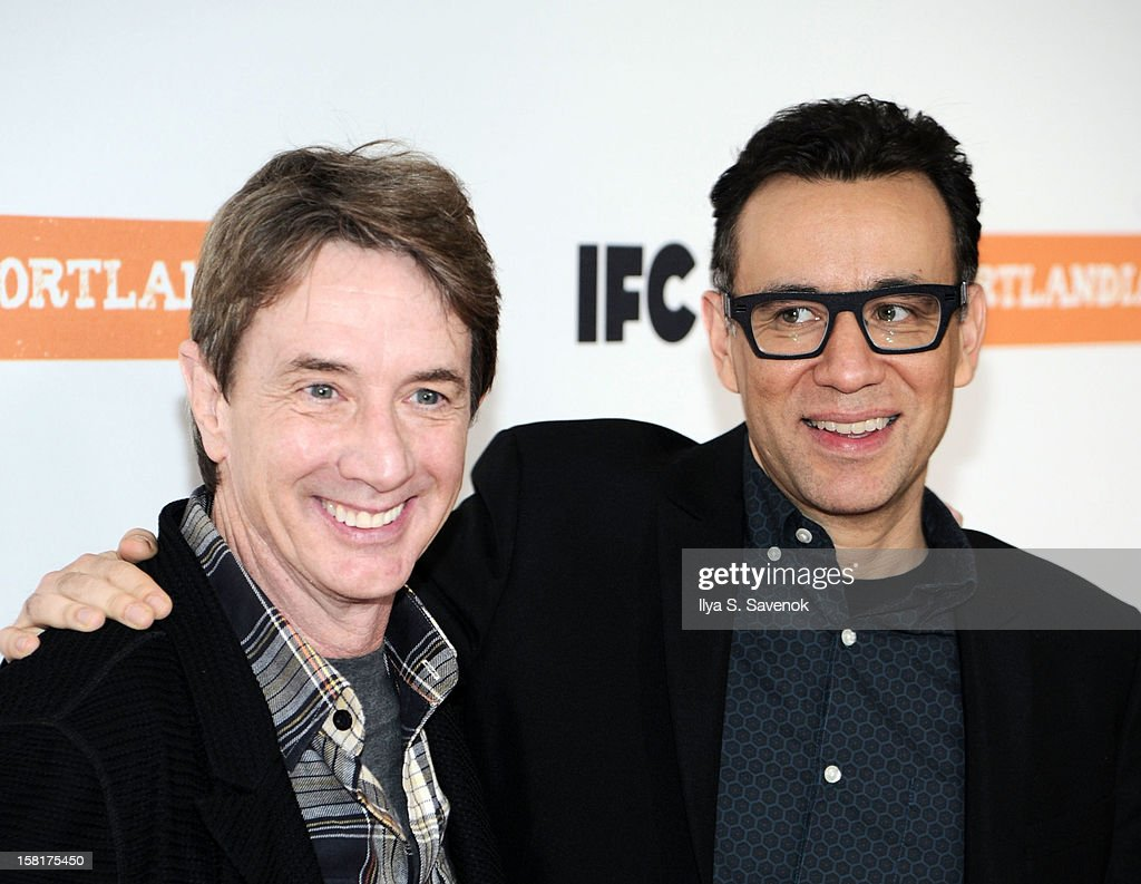 <a gi-track='captionPersonalityLinkClicked' href=/galleries/search?phrase=Martin+Short&family=editorial&specificpeople=211569 ng-click='$event.stopPropagation()'>Martin Short</a> and <a gi-track='captionPersonalityLinkClicked' href=/galleries/search?phrase=Fred+Armisen&family=editorial&specificpeople=221426 ng-click='$event.stopPropagation()'>Fred Armisen</a> attend IFC's 'Portlandia' Season 3 New York Premiere at American Museum of Natural History on December 10, 2012 in New York City.