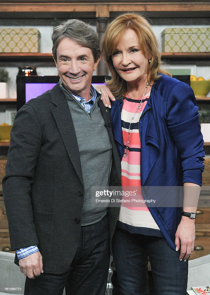 <a gi-track='captionPersonalityLinkClicked' href=/galleries/search?phrase=Martin+Short&family=editorial&specificpeople=211569 ng-click='$event.stopPropagation()'>Martin Short</a> and Host Marilyn Denis appear on the Marilyn Denis Show on February 12, 2013 in Toronto, Canada.