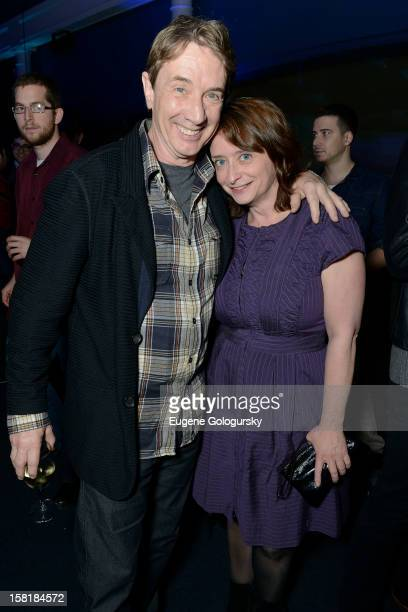 Martin Short and Rachel Dratch attend IFC's 'Portlandia' Season 3 New York Premiere after party at American Museum of Natural History on December 10...