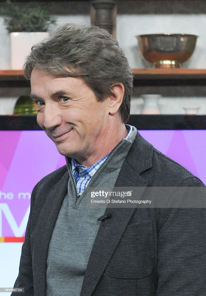 Martin Short appears on the Marilyn Denis Show on February 12, 2013 in Toronto, Canada.