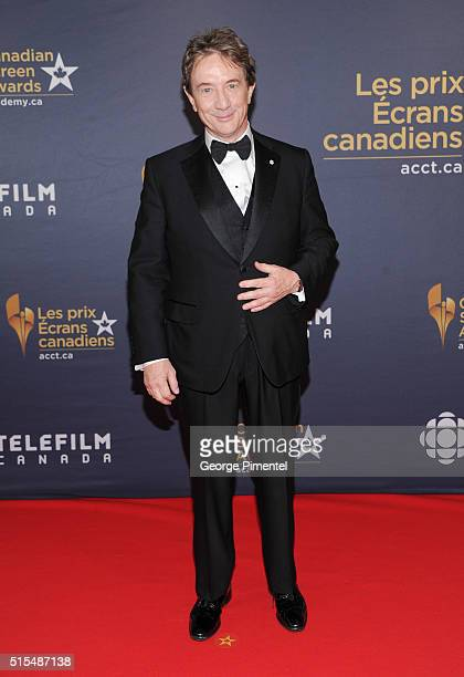 Martin Short arrives at the 2016 Canadian Screen Awards at the Sony Centre for the Performing Arts on March 13 2016 in Toronto Canada