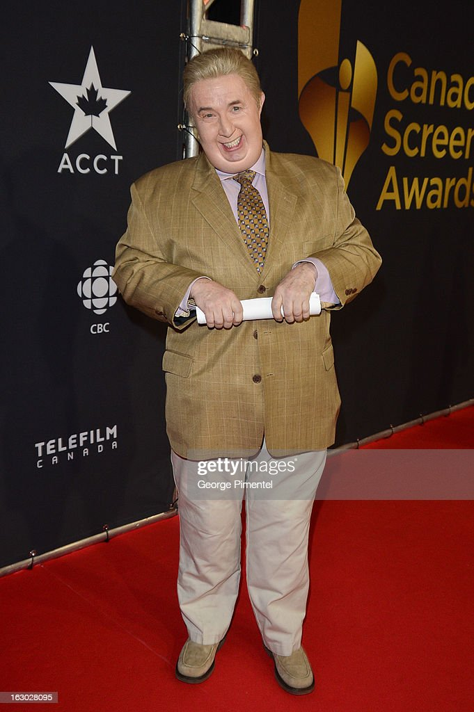 Martin Short arrives at the Canadian Screen Awards at the Sony Centre for the Performing Arts on March 3, 2013 in Toronto, Canada.