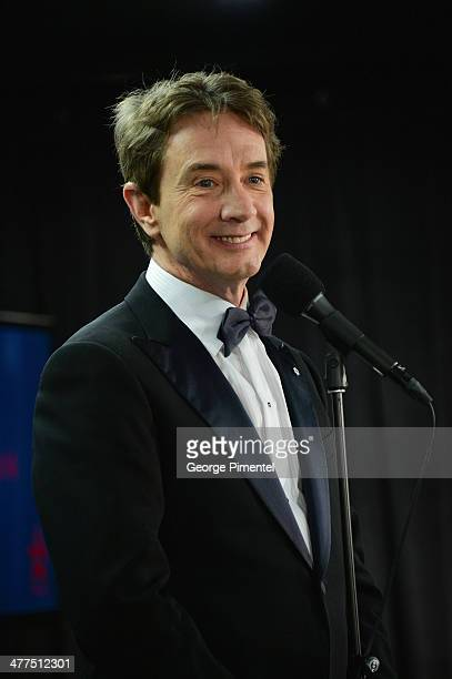 Martin Short arrives at the Canadian Screen Awards at the Sony Centre for the Performing Arts on March 9 2014 in Toronto Canada