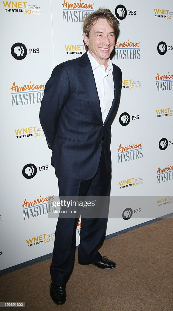 <a gi-track='captionPersonalityLinkClicked' href=/galleries/search?phrase=Martin+Short&family=editorial&specificpeople=211569 ng-click='$event.stopPropagation()'>Martin Short</a> arrives at the Los Angeles premiere of 'Inventing David Geffen' held at Writer's Guild Theater on November 13, 2012 in Los Angeles, California.