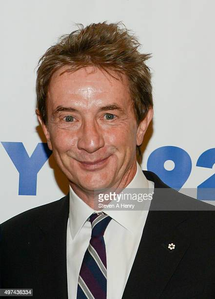 Martin Short attends Alan Zweibel in Conversations with Martin Short at the 92nd Street Y on November 16 2015 in New York City