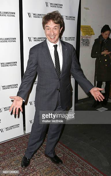 Martin Short attends the Williamstown Theatre Festival 2015 Annual Benefit at the City Winery on February 9 2015 in New York City