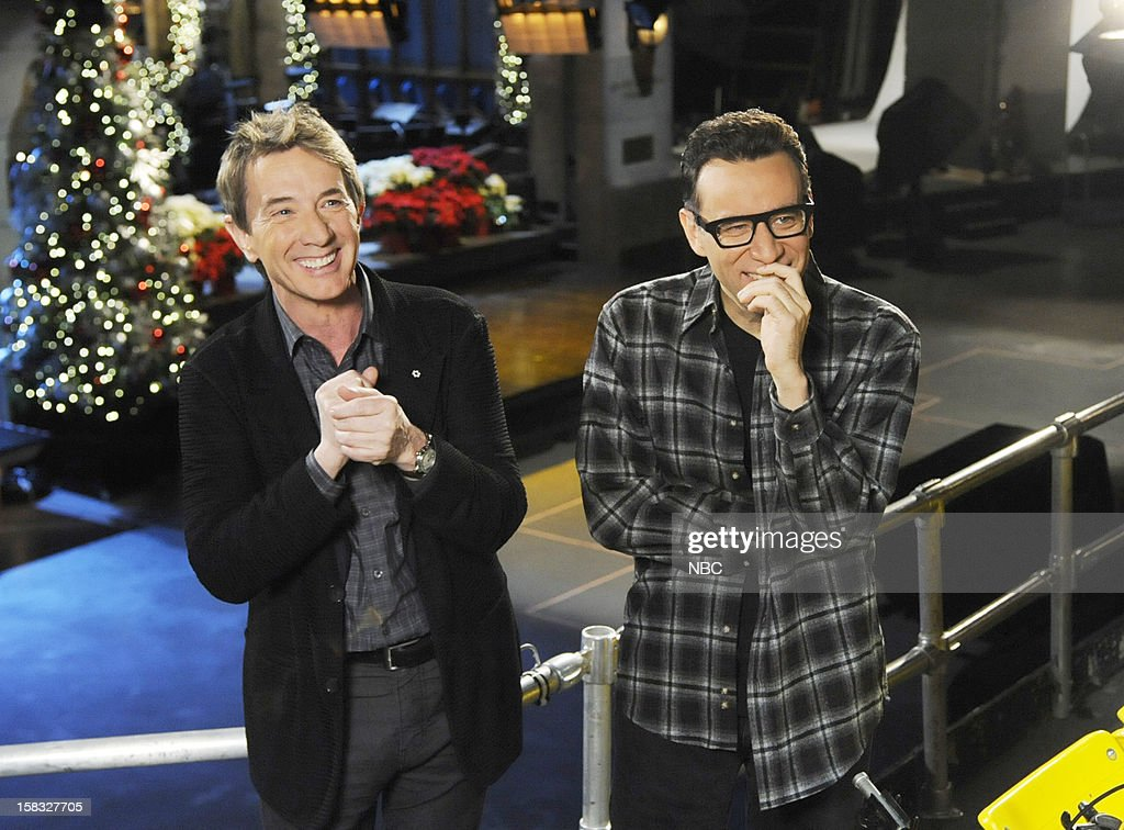 LIVE -- 'Martin Short' Episode 1630 -- Pictured: (l-r) Martin Short, Fred Armisen --