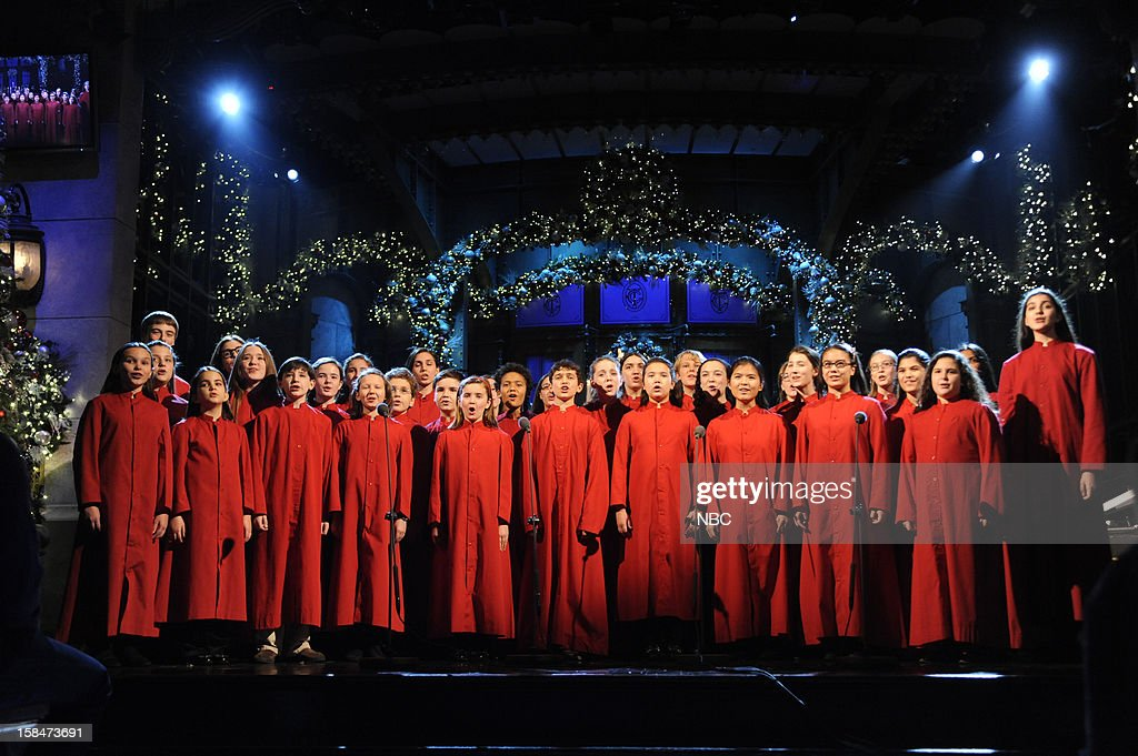 LIVE -- 'Martin Short' Episode 1630 -- Pictured: New York City Children's Chorus --