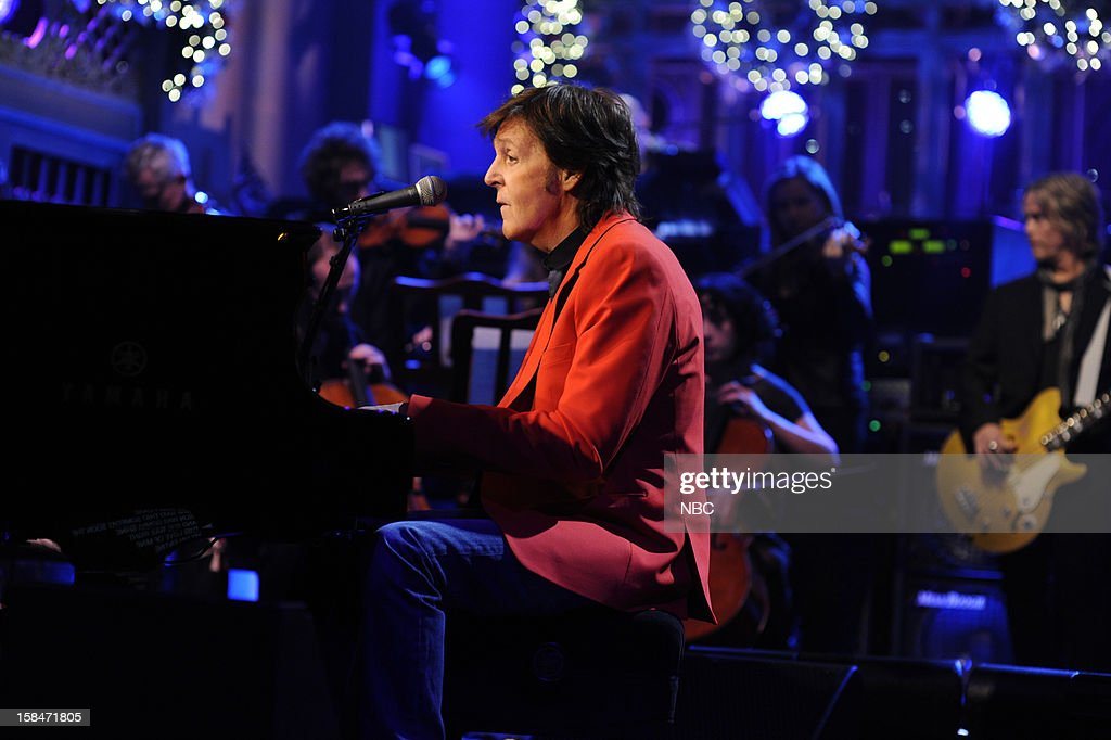 LIVE -- 'Martin Short' Episode 1630 -- Pictured: Paul McCartney --