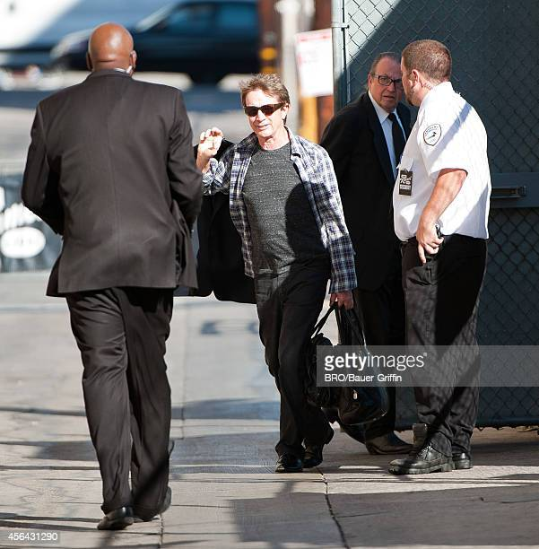 Martin Short is seen at 'Jimmy Kimmel Live' on September 30 2014 in Los Angeles California