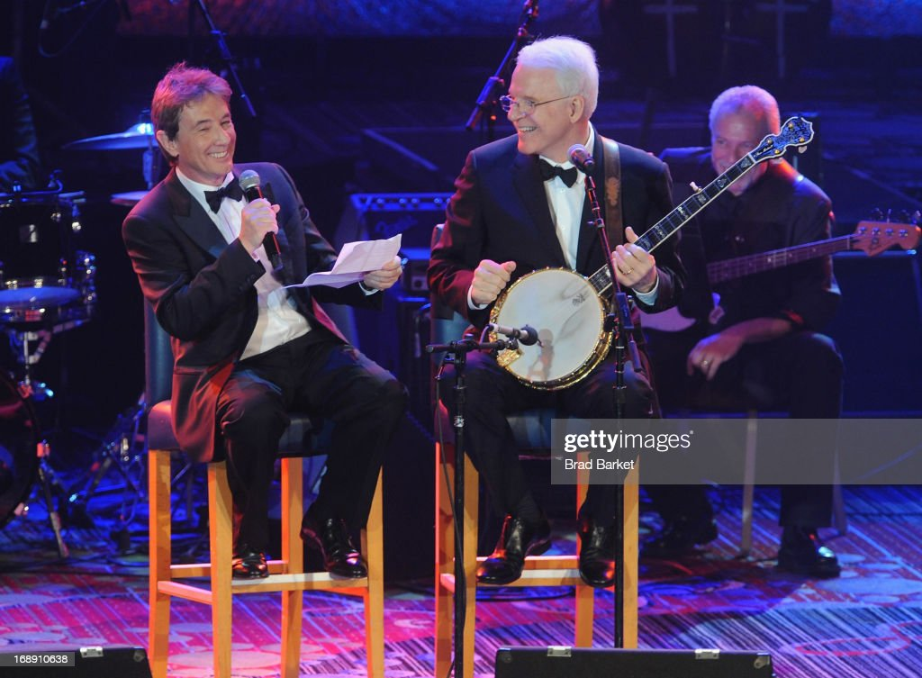 <a gi-track='captionPersonalityLinkClicked' href=/galleries/search?phrase=Martin+Short&family=editorial&specificpeople=211569 ng-click='$event.stopPropagation()'>Martin Short</a> performs with <a gi-track='captionPersonalityLinkClicked' href=/galleries/search?phrase=Steve+Martin+-+Comedian&family=editorial&specificpeople=196544 ng-click='$event.stopPropagation()'>Steve Martin</a> at the 2013 Toys'R'Us Children''s Fund Gala on Thursday, May 16 in New York City. One of the largest, single-night fundraisers in New York City, the Toys'R'Us Children's Fund Gala has raised more than $100 million, since its inception, to support charitable organizations that keep children safe and help them in times of need.