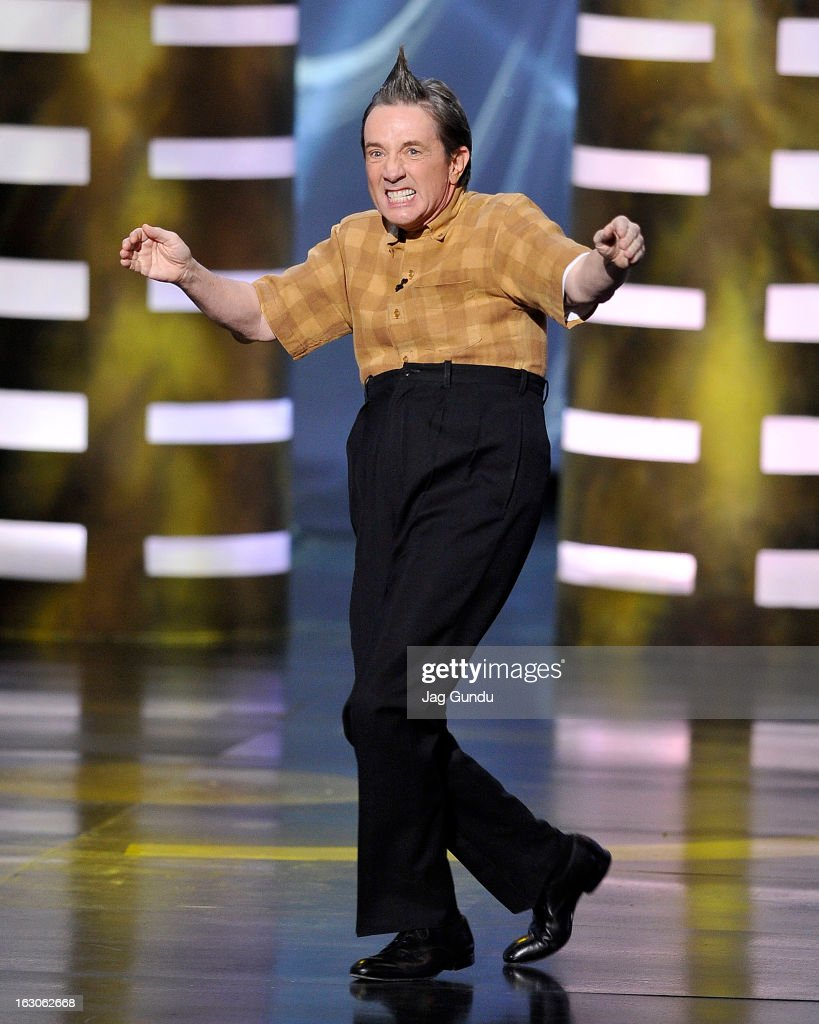 <a gi-track='captionPersonalityLinkClicked' href=/galleries/search?phrase=Martin+Short&family=editorial&specificpeople=211569 ng-click='$event.stopPropagation()'>Martin Short</a> the host of the 2013 Canadian Screen Awards at the Sony Centre for the Performing Arts on March 3, 2013 in Toronto, Canada.