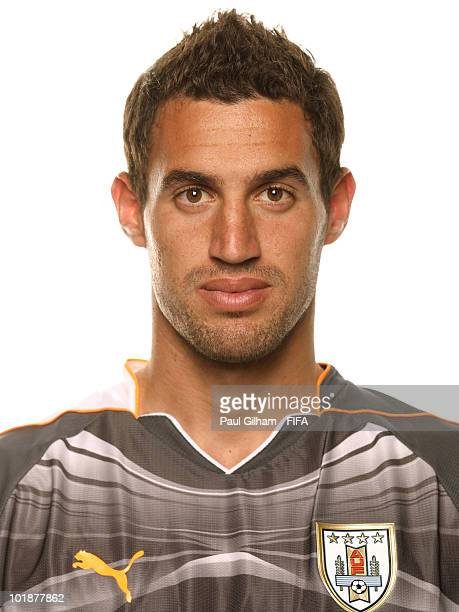 Martin Silva of Uruguay poses during the official FIFA World Cup 2010 portrait session on June 7 2010 in Kimberley South Africa