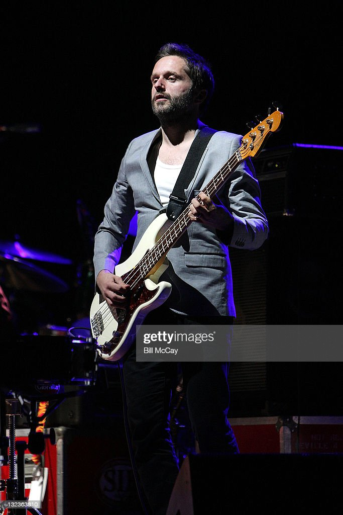 Martin Slattery of The Hours performs at the Academy of Music November 11, 2011 in Philadelphia, Pennsylvania.