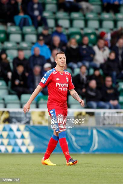 Martin SmedbergDalence of IFK Goteborg during the Allsvenskan match between GIF Sundsvall and IFK Goteborg at Idrottsparken on May 22 2017 in...