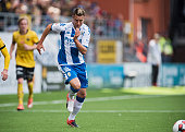 Martin SmedbergDalence of IFK Goteborg running to the ball during the Allsvenskan match between IF Elfsborg and IFK Goteborg at Boras Arena on July...