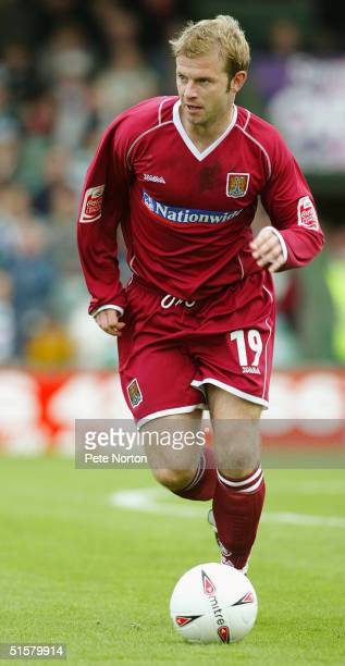Martin Smith of Northampton Town in action during the Coca Cola League Two match Yeovil Town v Northampton Town held at Huish Park Yeovil on October...