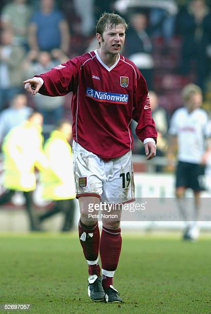 Martin Smith of Northampton Town in action during the Coca Cola League Two match between Northampton Town and Swansea City held at Sixfields Stadium...