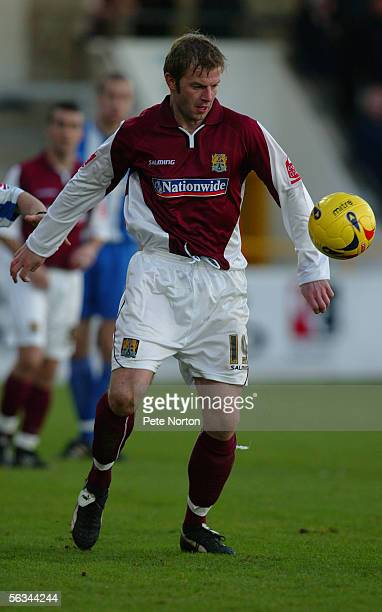 Martin Smith of Northampton Town in action during the Coca Cola League Two match between Chester City and Northampton Town at the Saunders Honda...
