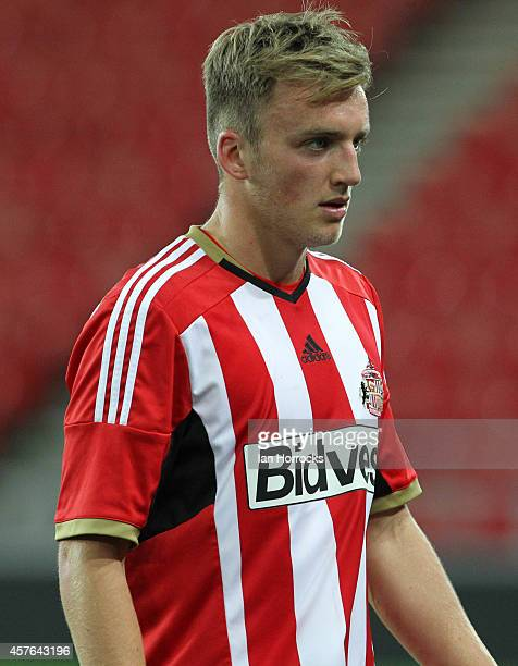 Martin Smith of Sunderland during the Barclays U21 League match between Sunderland AFC and Leicester City FC at The Stadium of Light on October 20...