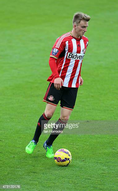 Martin Smith of Sunderland during the Barclays U21 Premier League match between Sunderland and Chelsea at the stadium of Light on May 11 2015 in...