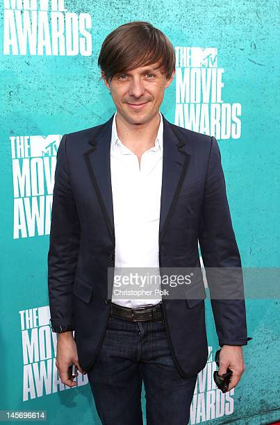 Martin Solveig arrives at the 2012 MTV Movie Awards held at Gibson Amphitheatre on June 3 2012 in Universal City California