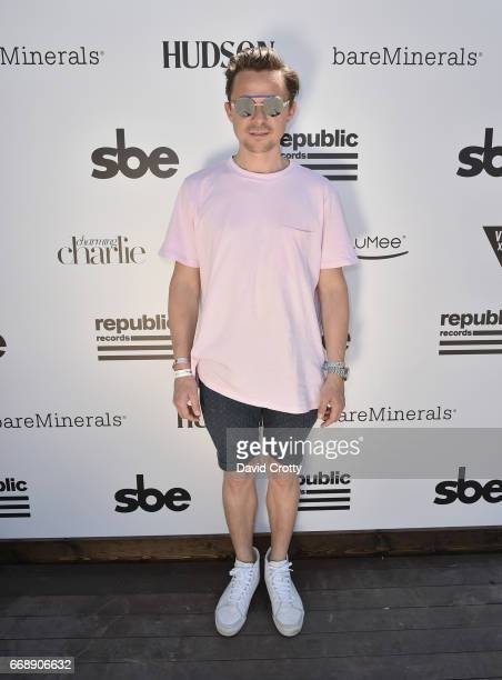 Martin Solveig attends The Hyde Away hosted by Republic Records SBE presented by Hudson and bareMinerals during Coachella on April 15 2017 in Thermal...