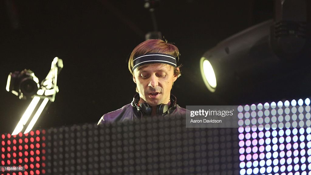 Martin Solveig performs at Ultra Music Festival - Weekend 1 at Bayfront Park Amphitheater on March 16, 2013 in Miami, Florida.