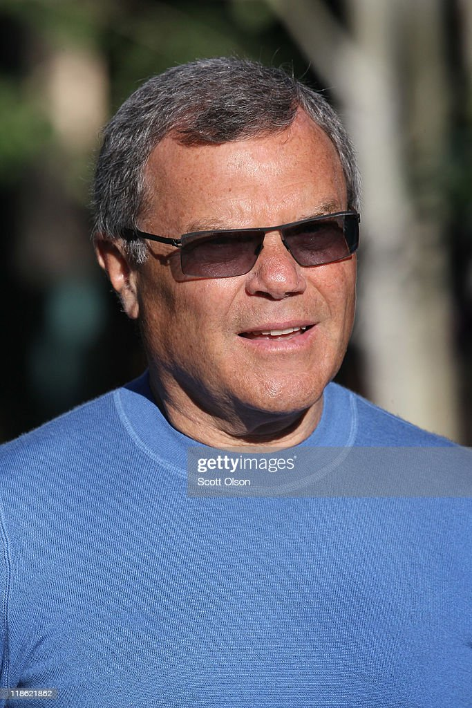 Martin Sorrell, chief executive officer of WPP Plc, attends the Allen & Company Media and Technology Conference on July 9, 2011 in Sun Valley, Idaho. The conference has been hosted annually by the investment firm Allen & Company each July since 1983. The conference is typically attended by many of the world's most powerful media executives.