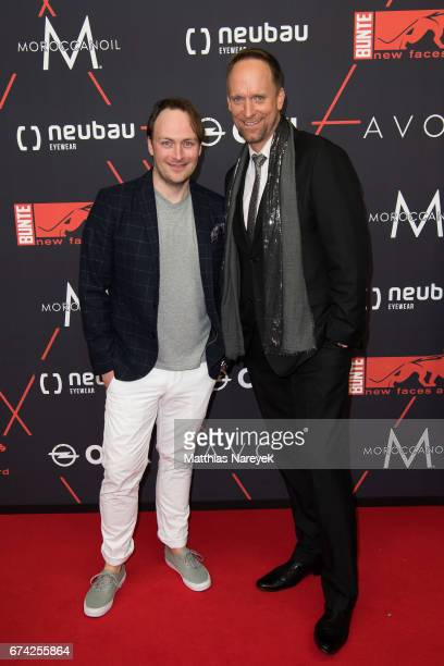 Martin Stange and Daniel Termann attend the New Faces Award Film at Haus Ungarn on April 27 2017 in Berlin Germany
