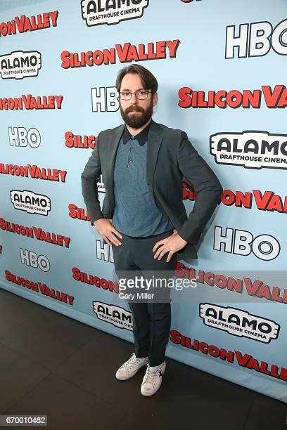 Martin Starr attends the premiere of HBO's 'Silicon Valley' 4th season at the Alamo Drafthouse South Lamar on April 18 2017 in Austin Texas