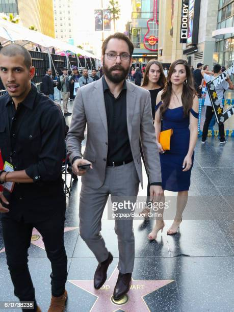 Martin Starr is seen on April 19 2017 in Los Angeles California
