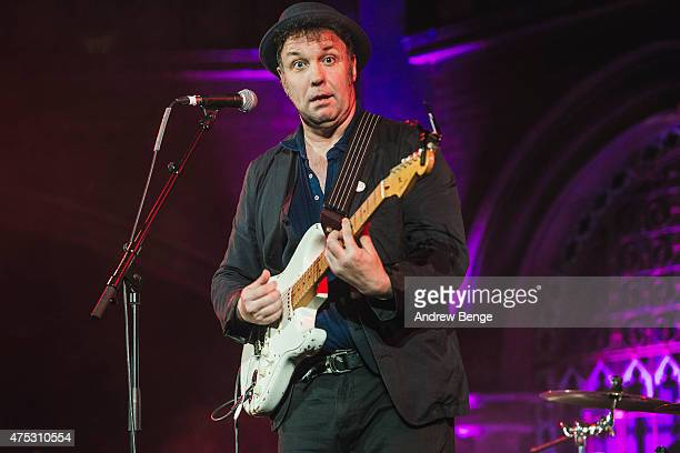Martin Stephenson of Martin Stephenson and The Daintees perform on stage at the Union Chapel on May 30 2015 in London United Kingdom